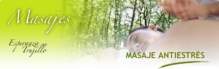 Masaje Antiestrés - Esperanza Trujillo